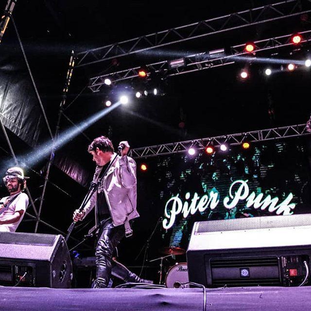 El Punk tomó el stage Alternativo con Piter Punk! 🤘  #ReciclArte2019