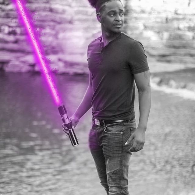 When I get bored i get creative. A few edits which ones your fav!? I'm thinking the super sayin blue one! Scroll left and LMK! See where the edit started!  Book Dunlapfilms website in bio!  #supersayian #supersayingod #menwithhair #superpowers #starwarsmeme #lightsabers #starwarsfans #menhairstyle #blackhairstyles #blackhair #blackandwhite #afropuff #afro #longhairdontcare #artisticphotography #macewindu #darthvader #vader #yoda #jedimaster #sithlord #malemodels #malefashion #photoeditor #photooftheday #dallasphotographer