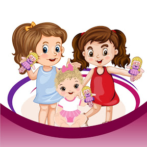 Girls Play Dolls