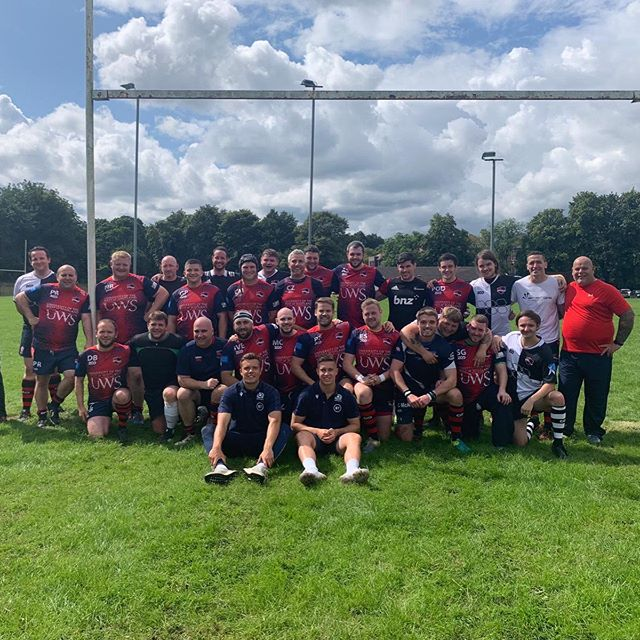 Great to get back on the pitch with these boys yesterday.  1 game - 1 win, great start as club captain! Oh and 6 points in the bag for me! Bring on the season!  #wearepaisley #win #rugby #sun #team #gassed