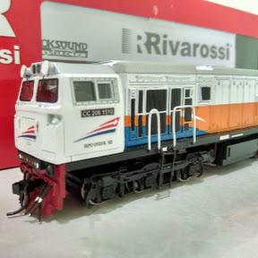 Miniatur Kereta Api Look's Train