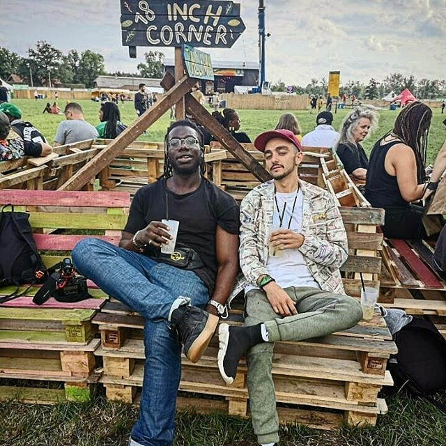 Good vibes @reggaegeel with this dude. Thanks for everything brotha!