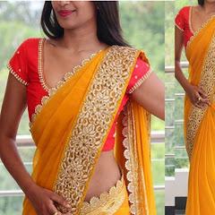saree fashion and women's wear