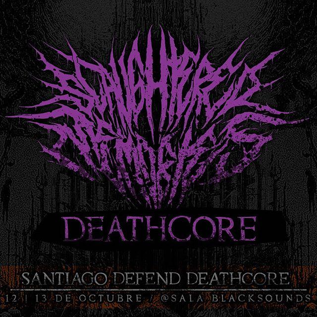 Estaremos en @santiagodefenddeathcore encabezando uno de los 2 días del Festival y presentando al nuevo integrante #SantiagoDefendDeathcore #Deathcore #MetalChileno