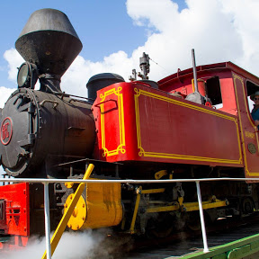Bally Hooley Steam Train
