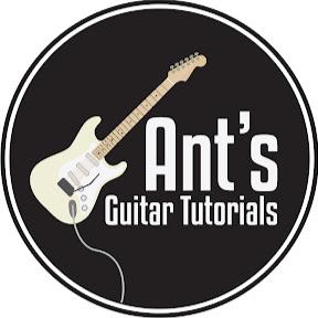 Ant's Guitar Tutorials
