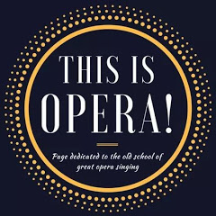 This is opera!