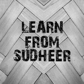 Learn From Sudheer