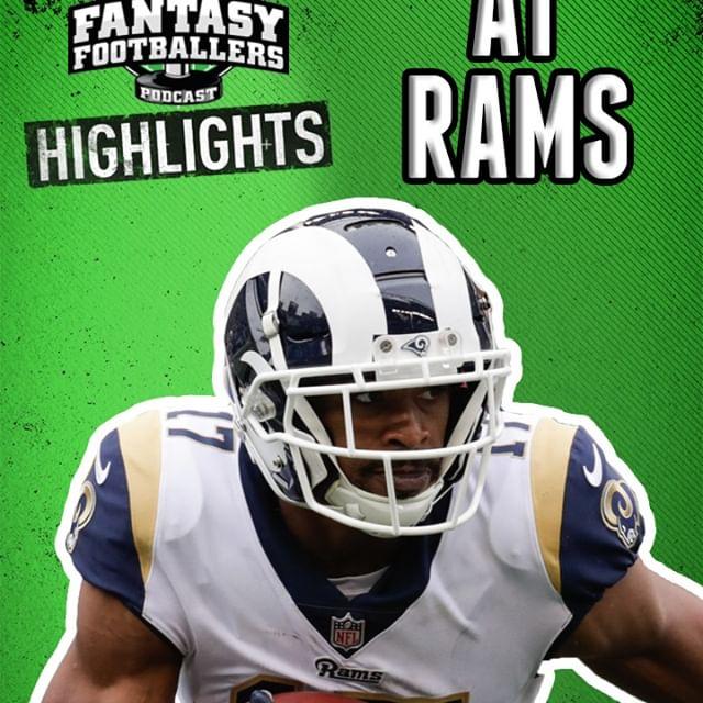Fantasy Football Week 4 - Buccaneers at Rams