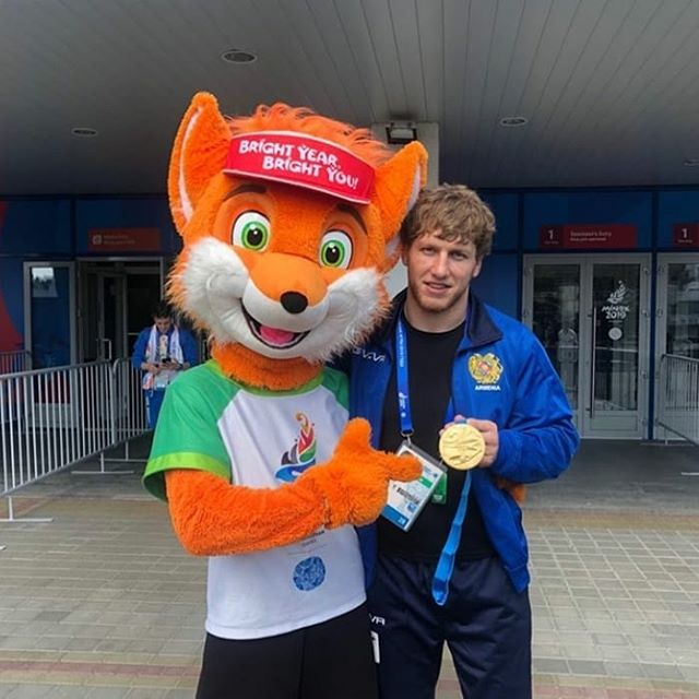 Белый Медведь становится Чемпионом Европейских Игр. 🥇🐼🇦🇲 АРТУР АЛЕКСАНЧН @arturaleksanyan_
