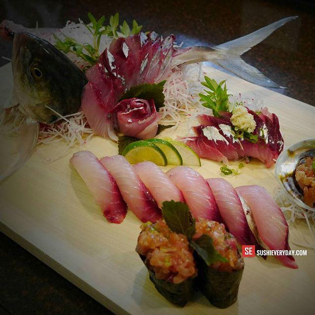 Is Blue Runner really trash fish?  #sushi #sashimi #floridafishing #seafood #sushiporn #bluerunner #food #sushilovers #foodporn