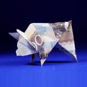 Оригами из денег - МАНИГАМИ