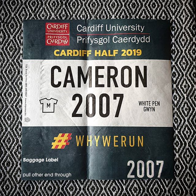 So this arrived today... the last couple of weeks I've been really motivated to run a fast time at Cardiff  I could then tick off a successful year of running and start prepping for 2020 but... The last couple of weeks I've been hiding a sore ankle/top of foot and it doesn't seem to be going away on it's own  So, do I... 1. Drop the race (4 weeks)? 2. Rest for a couple of weeks and then just race but not care about the time? (Could still happen) 3. Ignore and run through the pain?  Realistically I won't be doing option 3, because I would like to use the winter building strength and not be in a worse condition than I am now  Any advice?