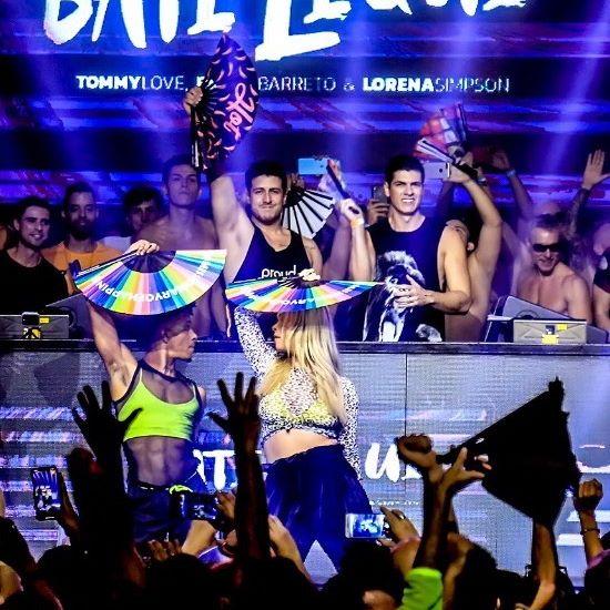 O #tbt de hoje é especial. Lançamento do #BateLeque na The Week Rio!