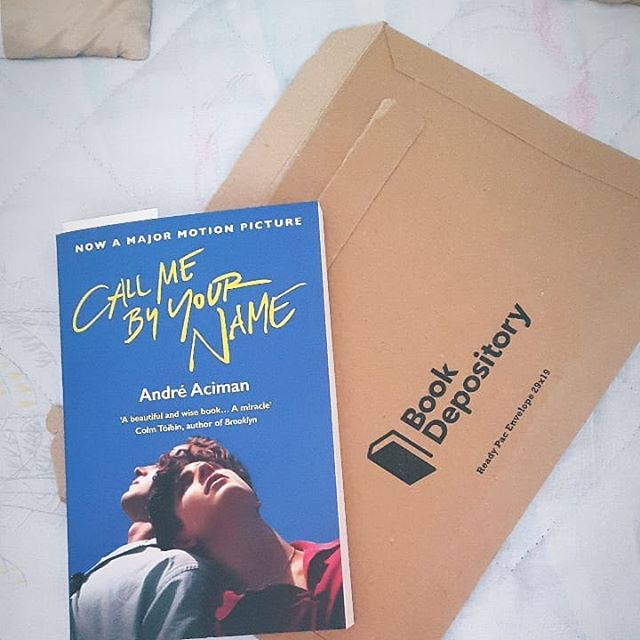 NEXT READ! 😍😢 after 247753M days waiting, my Book Depository order arrived this morning! 😍 . . . . . . . . . . . . . . #summertime #bookstagram #bookshelf #books #ineed5morebookshelfs #callmebyyourname #andreaciman #thebookdepository #bookdepository #read