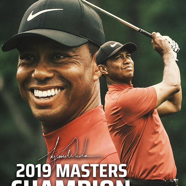 Congrats to @tigerwoods winning his 1st masters in over 10 years! Well deserved and he worked hard for this! #sportssavedmylife #grindtoshine #morethanagame #morethananathlete #athletes #sports #pga #masters #golf #golfswing #pgatour #sportsmatter #athletesmatter #athletes4athletes
