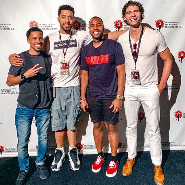Thanks for having us @hiphopfilmfestnyc 🎥🎬🎞 • • #ReelDealDigital #ReelDeal #RDD #FilmFestival #FilmScreening #Screening #Film #MoviePremier #Love #Movie #Production #HipHopFilmFestNYC #NationalBlackTheatreinc #Theater #CrowdReaction #MovieTheater #NewYork #NYC #Manhattan #Family #Friends #Support