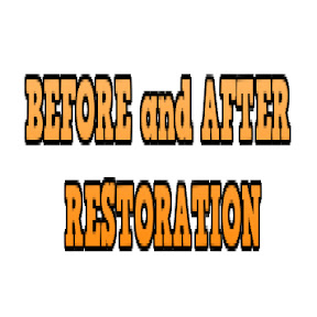 BEFORE and AFTER RESTORATION