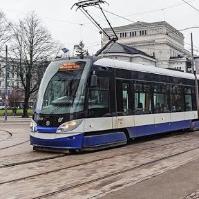 Общественный транспорт Риги
