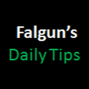 Falgun's Daily Tips