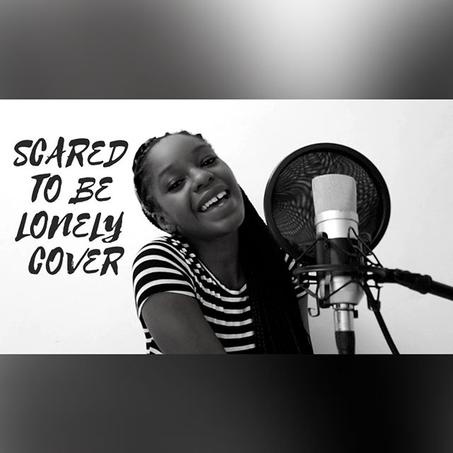 SCARED TO BE LONELY COVER
