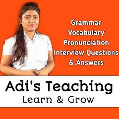 adi's teaching - Learn English Easily in Bengali