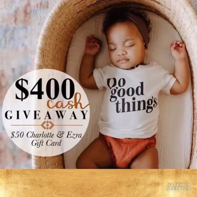 $400 CASH & a $50 gift card to Charlotte & Ezra! Best bundle ever!! And it takes less than 30 seconds for your chance to win! What are you waiting for?? 1️⃣ L I K E  this post! 2️⃣ G O  T O  @win_with_lcb to finish entering! 💸💸💸💸 Photo cred: @kayandcrew