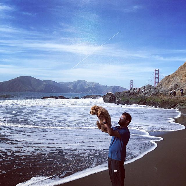 I could be simba #firsttimeatthebeach #youmakemeabetterme #goldengatebridge
