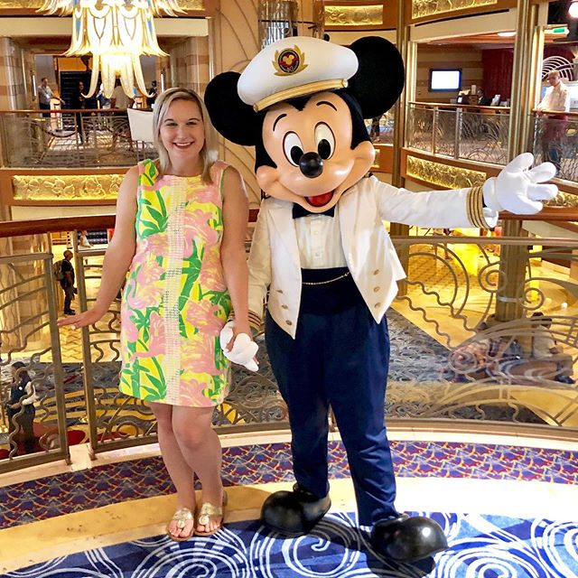 So happy Captain Mickey could take a quick break for a sweet hug during our six night voyage! #disneydream #disneycruise #disneycruiseline