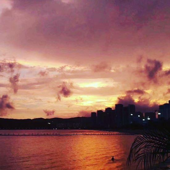 #china #shenzhen #sunset