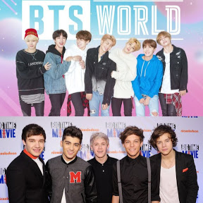 BTS AND ONE DIRECTION LYRICS SONGS