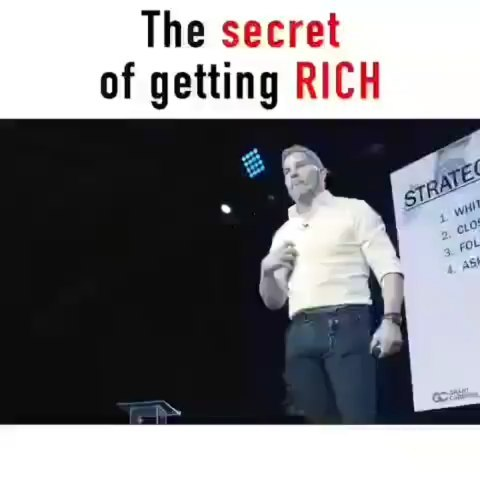 Do you want to be rich. . . . . . . . Credit to @grantcardone Follow @affirmativesuccess for more. #affirmativesuccess