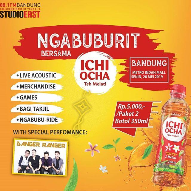 Ngabuburit yuk! Sampe ketemu tanggal 20 Mei 2019 di Metro Indah Mall yah, kita punya takjil untuk kalian, lagu-lagu manieezzz~