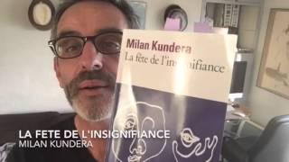 #SlowReading — La fête de l'insignifiance • Milan KUNDERA — Folio