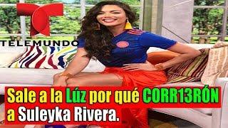 La manager REVEL4  por qué D3SPID13RÓN  a Zuleyka Rivera; La defiende.