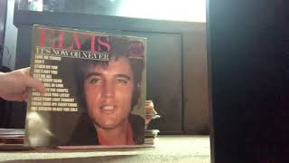 Elvis Presley record collection