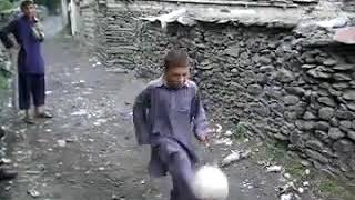 Amazing skill of young boy