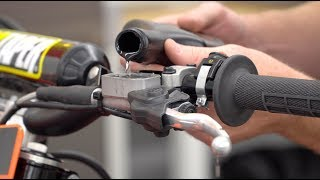 How to Bleed and Replace Hydraulic Clutch Fluid On a Dirt Bike
