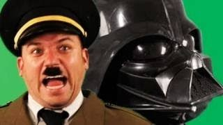 Epic Rap Battles of History : Darth Vader VS Hitler [VOSTFR/FRENCH]