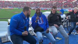 Interview with Danny Barrett, Perry Baker & Zack Test At Vegas USA 7s 