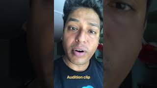 Audition clip