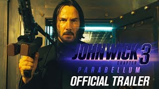 John Wick Chapter 3 Parabellum New Trailer 3 – Keanu Reeves, Halle Berry