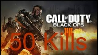 DROPPING 50 KILLS IN COD!!!! | Call of Duty Black ops 4