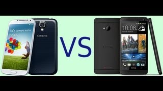 Samsung Galaxy S4 vs HTC One - Specs comparison