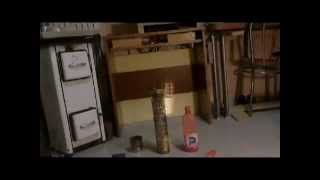 Stufa Fornello Lampada ad alcool tutorial facile ed economica - cooker stove lamp easy & cheap