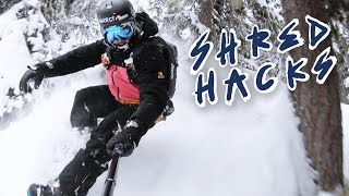 How To Ride Through The Trees | Shred Hacks