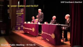UKIP Bourne Public Meeting - 19th Feb 15 - power stations?