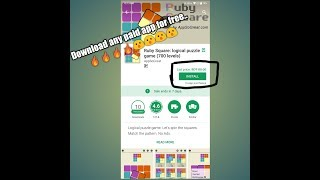How to download paid apps for free