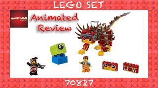 Ultrakatty & Warrior Lucy! - THE LEGO MOVIE 2 - 70827 Animated Build