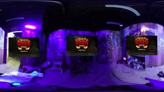 Field Of Screams Maryland Haunted 3D House Room 360 VR Video
